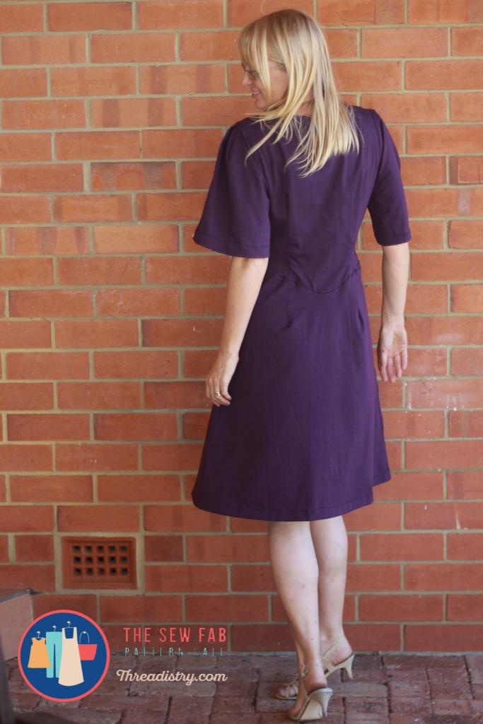 bloesem dress back