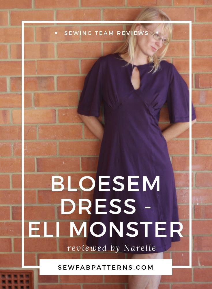 bloesem dress- eli monster
