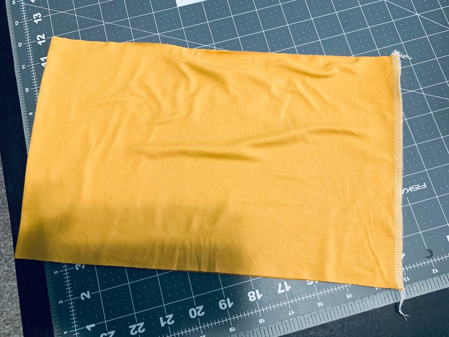 how to sew a yoga waistband together