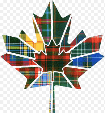 All the Canadian tartans