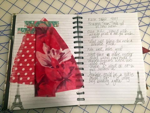 Pink Tropical top pages A