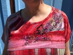 Batik Tee detail