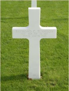 Uncle Raymond's Grave Cross Marker