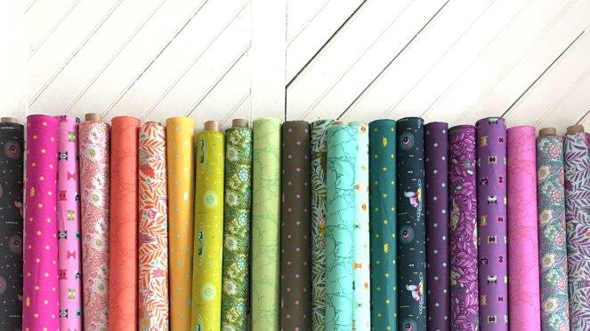 Tula Pink fabrics