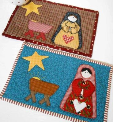Nativity Mug Rug - Copy