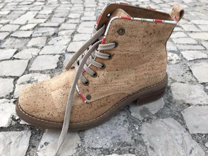 Grow From Nature Cork Leather boot