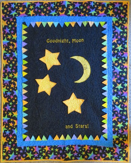 Goodnight Moon & Stars by LJ Christense comp