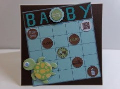 Baby Boy Bingo Card
