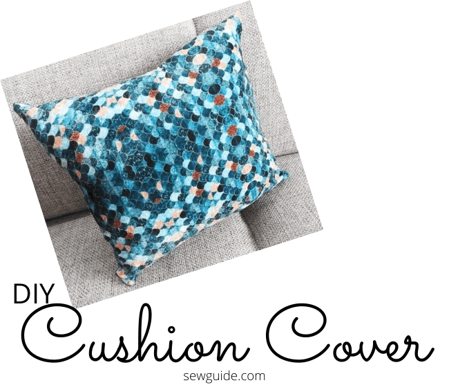 a cushion cover for your throw pillow