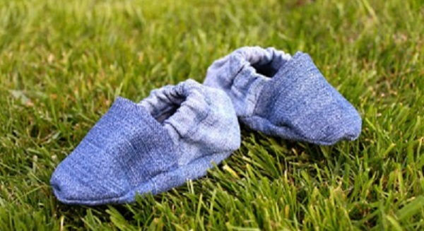 Tutorial: Baby shoes from a fat quarter