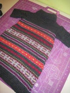 sweaterdressrefashion