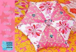 hexagonal pillow