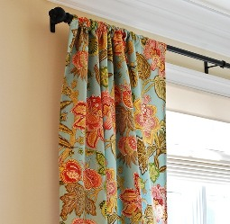 Tutorial Rod Pocket Curtains With Liner Sewing