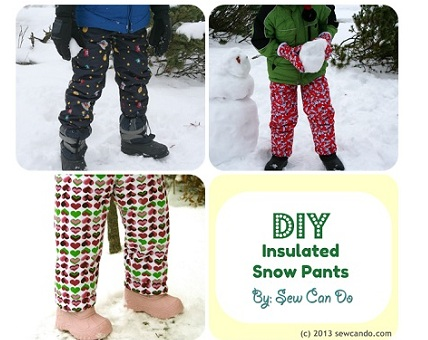 Snow Pants Collage 2