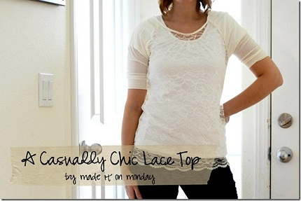 A Casually Chic Lace Top by Made it on Monday_thumb