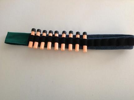 Nerf Gun Bullet Dart Holder Belt Rambo Headband Bandolier