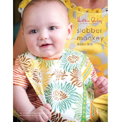 Free Pattern Slobber Monkey Baby Bib Sewing