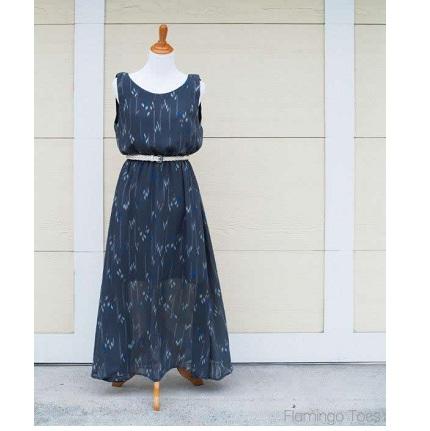 Sheer-Maxi-Dress