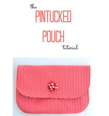 pintuckedpouch