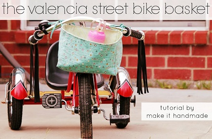 Tutorial: Valencia Street Bike Basket