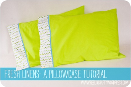 Tutorial: French seam pillowcase for a standard bed pillow