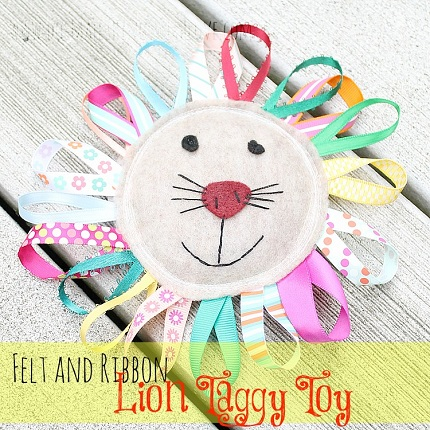 Tutorial: Loopy mane lion taggy toy