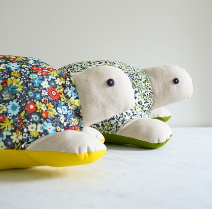 Free pattern: Turtle softie – Sewing