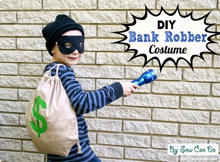 Idea file: Easy bank robber or ghost costume
