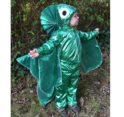 Tutorial: Fish Halloween costume for kids