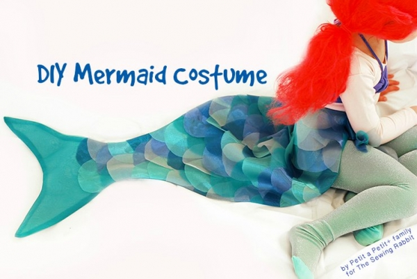 mermaid costume video tutorial