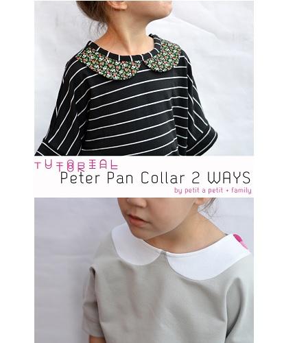 Tutorial: 2 ways to make a Peter Pan collar