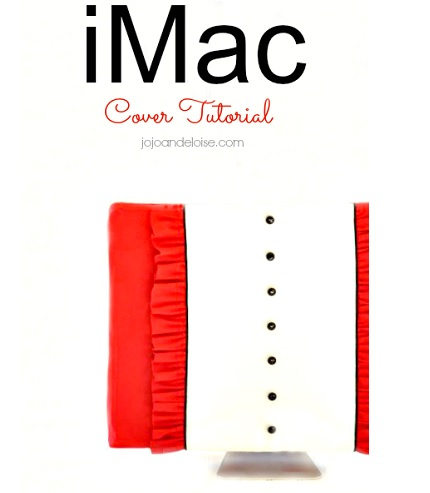 Tutorial: Ruffled iMac cover