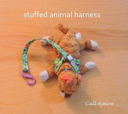 Tutorial: Stuffed animal harness