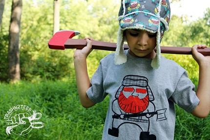 Free pattern: Lumberjack hat for kid and adults