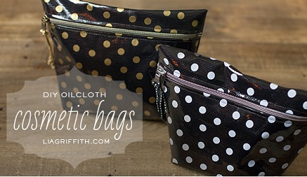 Tutorial: Oilcloth cosmetic bag