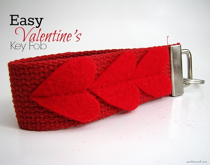 Tutorial: Easy Valentine's key fob