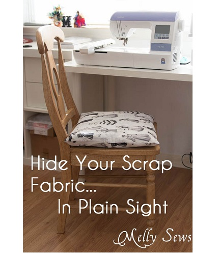 Idea file: Melissa's genius fabric scrap storage system