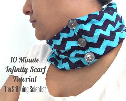 Tutorial: 10-Minute Infinity Scarf