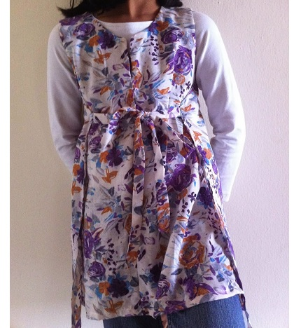 Tutorial: Draft and sew a wrap tunic or dress