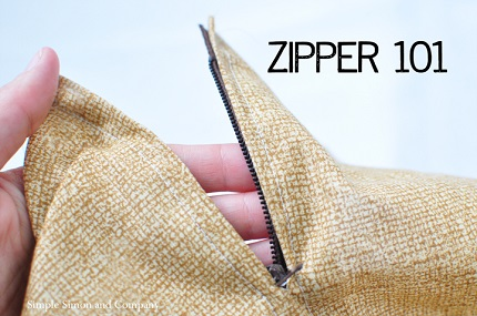 Tutorial: Install a centered zipper