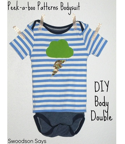 Tutorial: Make a body double style onesie