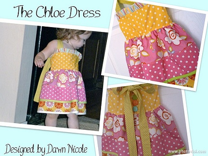 Tutorial: Chloe Dress for toddler girls