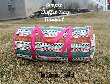Tutorial: Sew a simple duffel bag