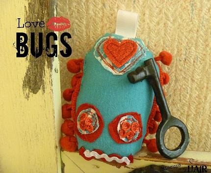 Tutorial: Love Bug pocket softie