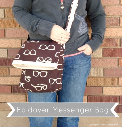 Tutorial: Fold over messenger bag