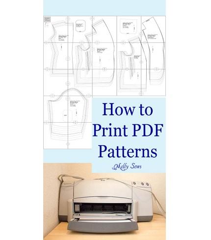 Video tutorial: Printing PDF patterns on your home printer