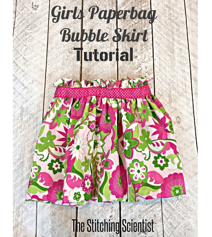 Tutorial: Little girl's paper bag bubble skirt