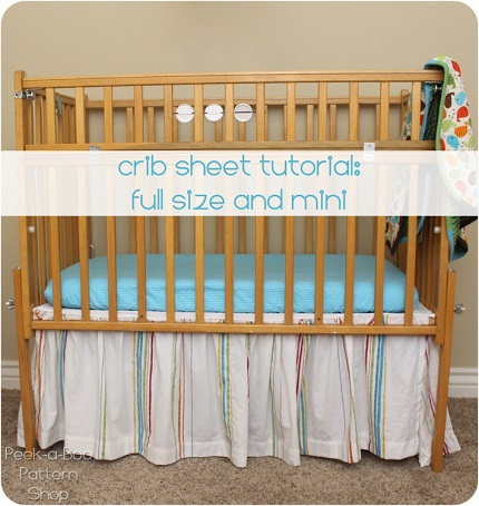 Tutorial Fitted Crib Sheets For Standard Or Mini