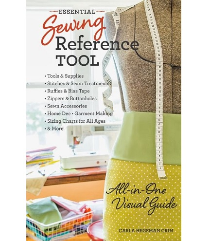 Review and giveaway: The Essential Sewing Toolkit by Carla Hegeman Crim