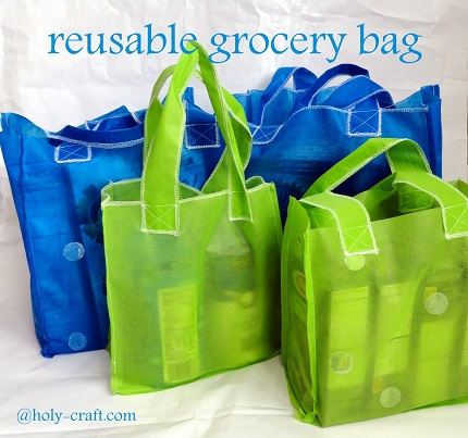 Tutorial: Sew a reusable grocery bag